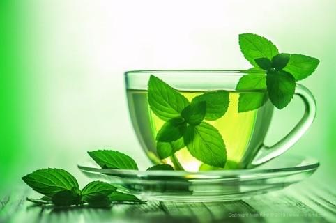 Зеленый монастырский чай на фото